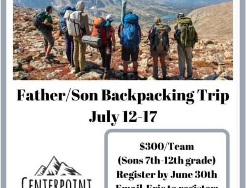 Father/ Son Backpacking Trip